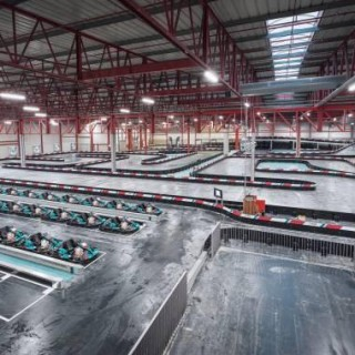 Trois heures d'endurance karting